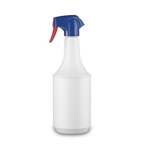 Lindner PE-Flasche Supra & Spruehkopf Guala TS-1