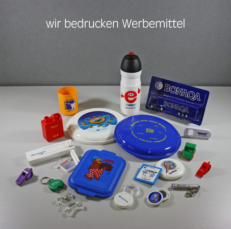Lindner Kunststoffprodukte Bedruckung Tampondruck