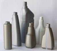 Lindner Kunststoffflaschen mit Sichtstreifen