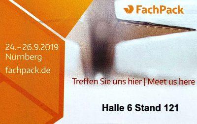 Lindner Kunststoffprodukte Fachpack 2019 Stand 121 Halle 6