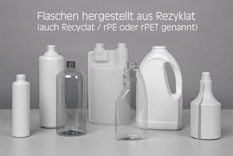 Recyclat-Flaschen von Lindner